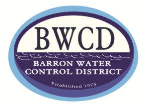 BWCD Barron Water Control District, Established 1975